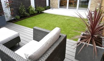 Contemporary Garden in Putney