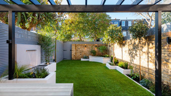 Contemporary Garden in Wimbledon
