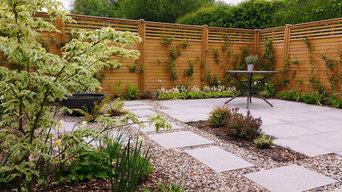 Contemporary Garden - South Ruislip