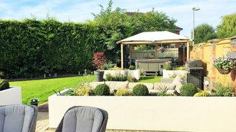 Contemporary Low Maintenance Garden, Chester