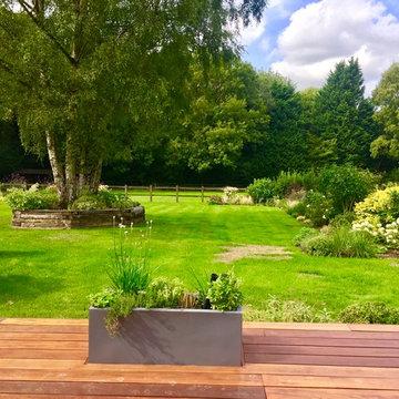 Contemporary Sevenoaks Garden