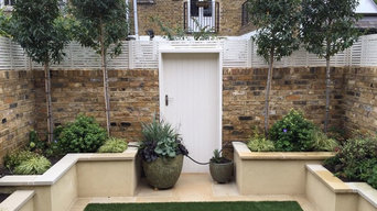 Contemporary urban garden - Small - Barnes, SW London
