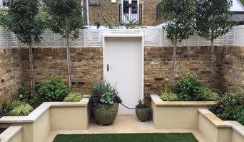 Contemporary urban garden - Small - Barnes, SW London