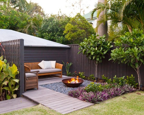 Cozy garden sitting area home design ideas pictures for Garden sit out designs