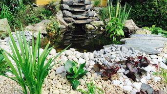 Corner Waterfall Design