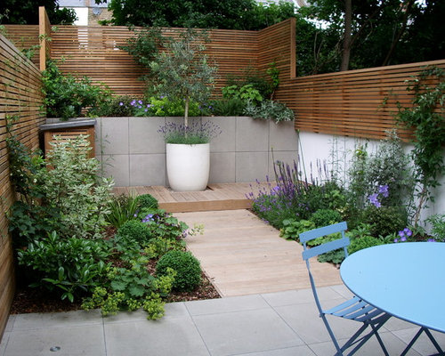 Garden Design North Facing courtyard garden design in barnsbury, london