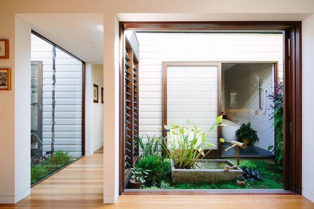 コンテンポラリー 庭 by Davis Architects