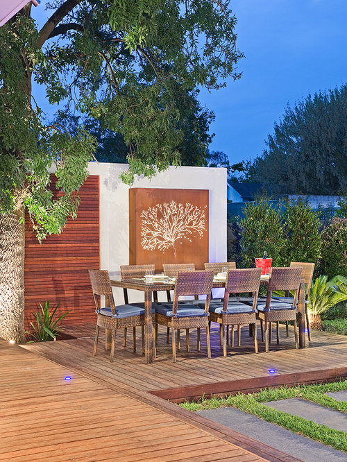 Outdoor wall art home design ideas pictures remodel and for Home exterior wall design