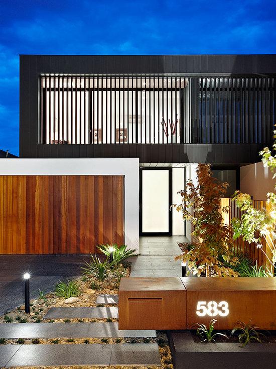 contemporary landscape ideas  designs  remodels  u0026 photos