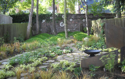 Stars and Myths Inspire a Contemporary London Garden