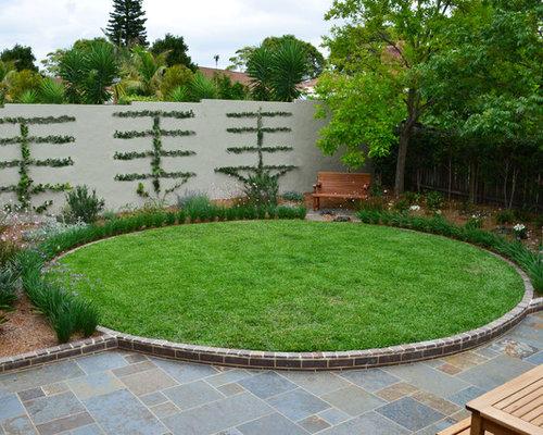 Lawn edging houzz - Garden border shape ideas ...