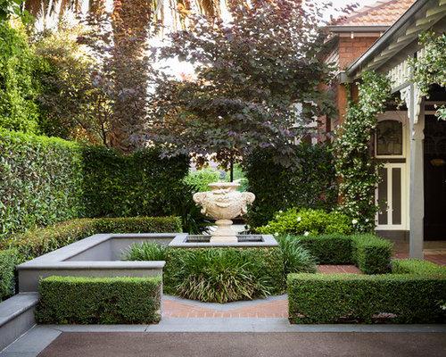 Melbourne courtyard garden home design ideas pictures for Courtyard landscaping melbourne