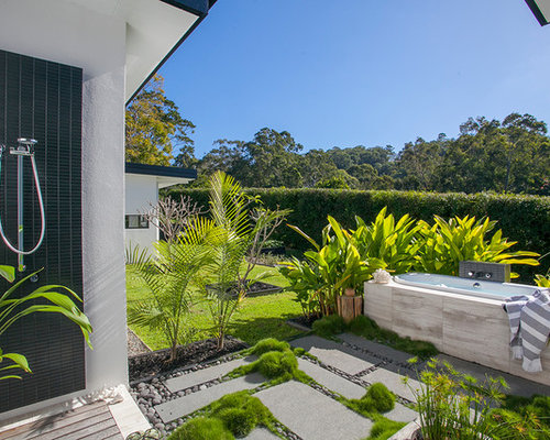 Immagini Di Giardini Moderni : Giardino moderno sunshine coast foto idee per arredare e immagini
