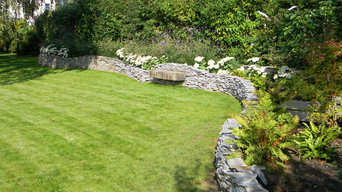 Dry stone wall project, Chelmsford.