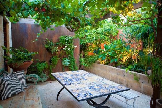 Piastrelle da esterni e giardini piastrellati - Mosaico per esterno ...