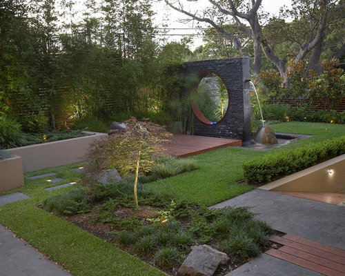 This Is An Example Of A Contemporary Retaining Wall Landscape In Sydney.