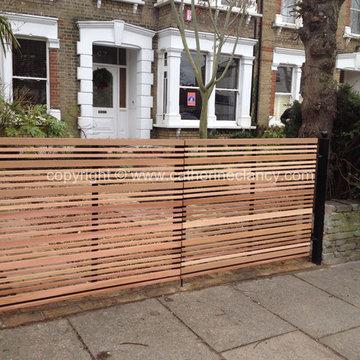 eco friendly front garden