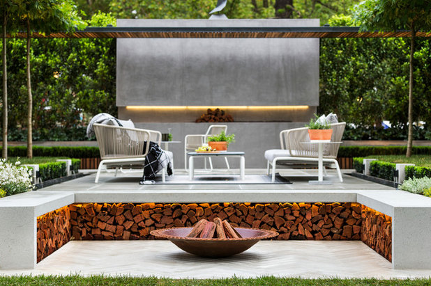 Contemporary Landscape by Anston Architectural