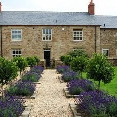 Farmhouse Landscape by Inspired Garden Design