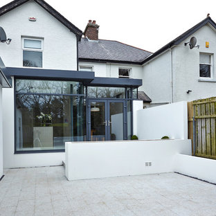 This is an example of a contemporary landscaping in Belfast.