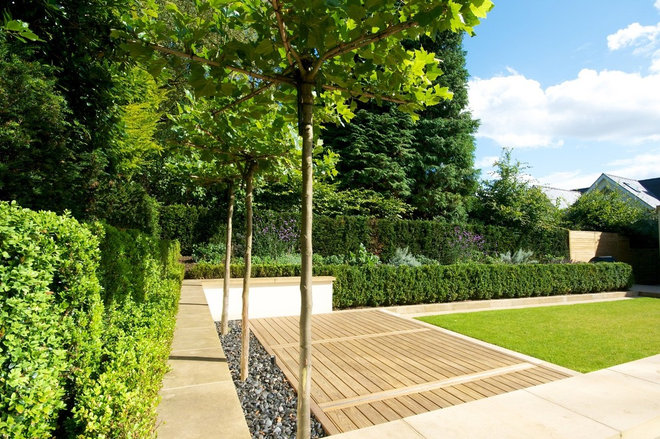 Contemporary Landscape by Barnes Walker Ltd - Landscape Architects
