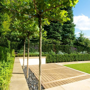 Inspiration for a contemporary landscaping in Manchester.