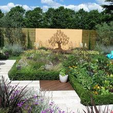 Модный огород: Дизайн грядок на дачном участке — фото и идеи