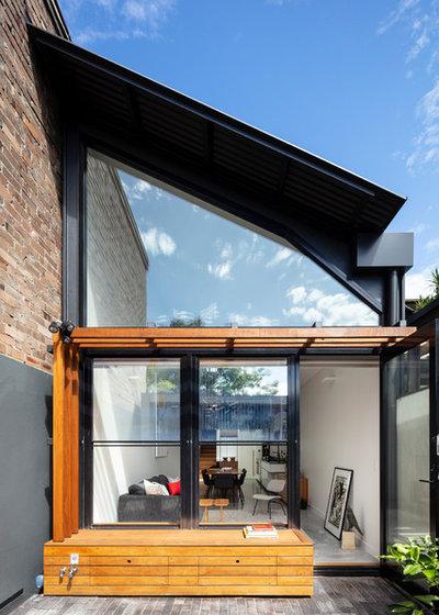 コンテンポラリー 庭 by anderson architecture