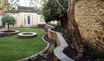 Finished Courtyard Garden Design, Bodicote, Oxfordshire