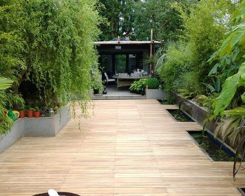 75 Garden with Decking Design Ideas - Stylish Garden with Decking ...
