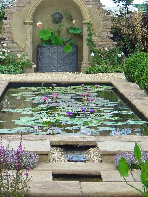Formal Pond Home Design Ideas Renovations Photos