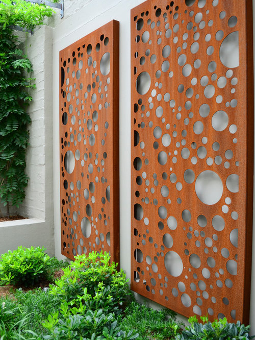 Corten Steel Panels Ideas Pictures Remodel And Decor