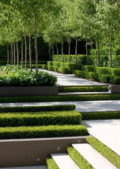 Transitional Garden by Peter Fudge Gardens