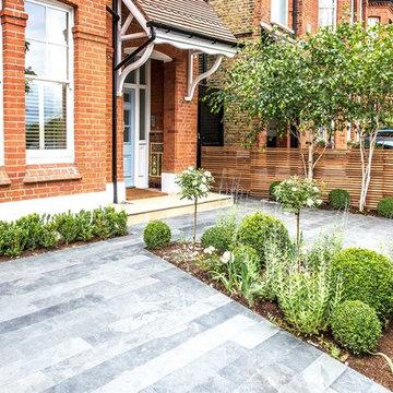 Front Garden Design, Calton Avenue, London, 1