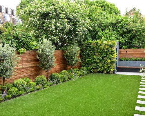 Contemporary backyard landscape ideas designs remodels for Garden designs for medium gardens