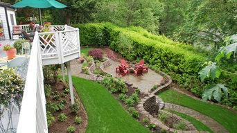 Garden Landscape Project in Cambridge