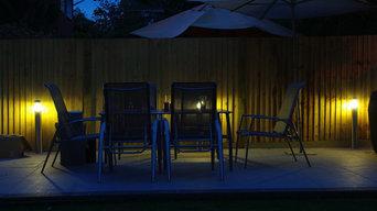 Garden Lighting, Wokingham