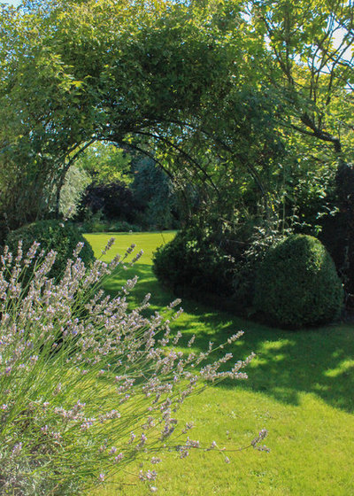 Traditional Landscape by Lucy Cotes' Beautiful Gardens