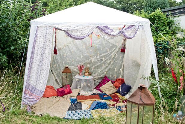 Shabby-Chic-Style Garten by Bliss Interiors Ltd