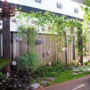 Design ideas for a bohemian garden in Perth.