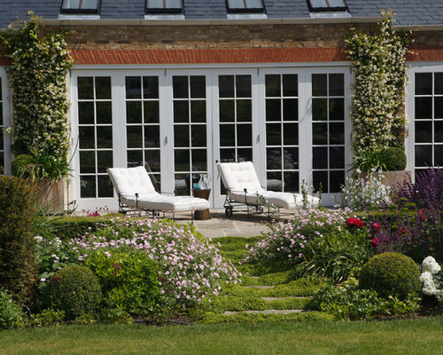 Traditional Garden Design Ideas Renovations Photos - Traditional garden design pictures