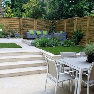 Design ideas for a small contemporary garden in London.