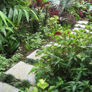Tropical Gold Coast Tweed Garden Design Ideas Inspiration