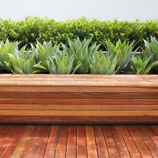 Idee per un giardino design con pedane