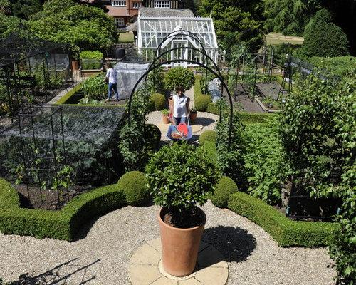 Best Victorian Landscape with a Vegetable Garden Design