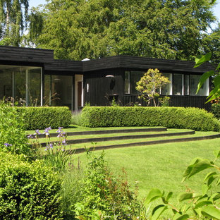 Design ideas for a scandinavian landscaping in Wiltshire.
