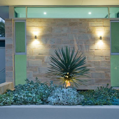 This is an example of a mid-sized contemporary landscaping in Adelaide.