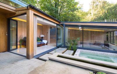 Traumhafter Luxus: Ein privates Spa in London, zwischen Wald und Garten