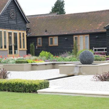 Hitchin Barn Garden