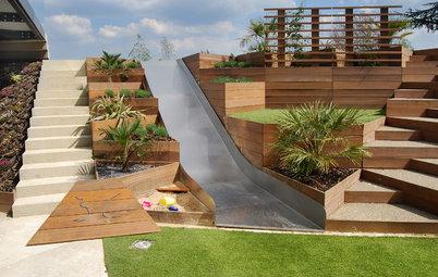 Cómo diseñar el jardín perfecto para tus hijos
